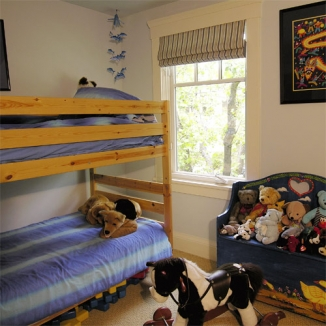 kids bedroom roman shades