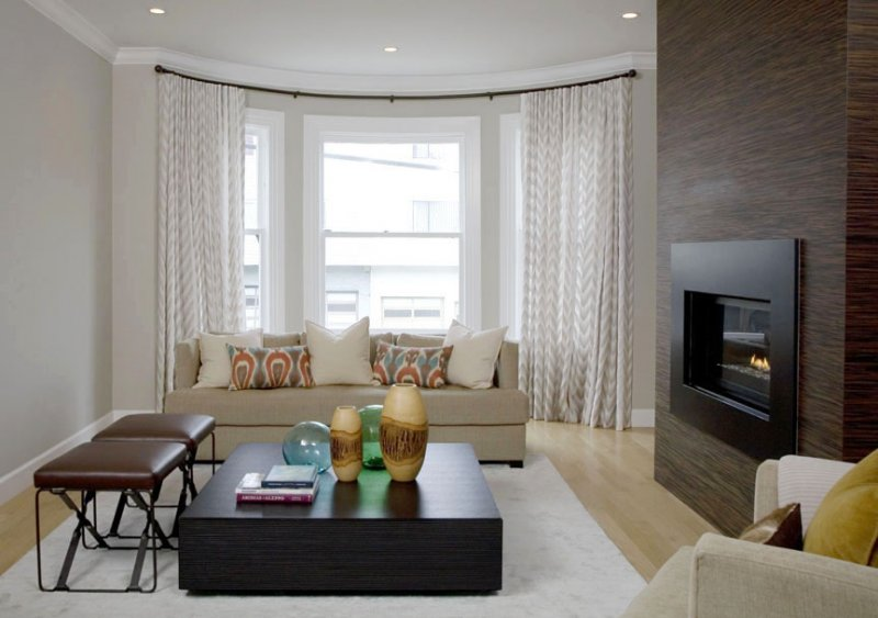 Living Room & Dining Room Window Treatments | Stitch SF