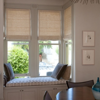 motorized-dining-room-roman-shades