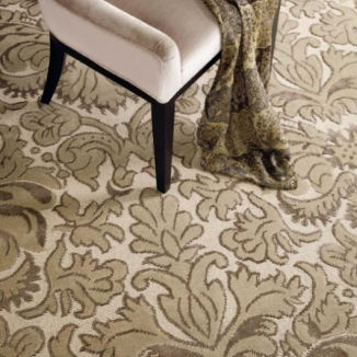 cream-and-brown-rug