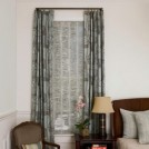 custom curtain and roman-shade