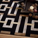 black-grey-brown-rug