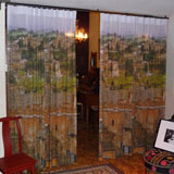 Custom Printed Curtain