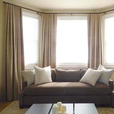Bow Curved Bay Corner Window Treatments Sch Sf