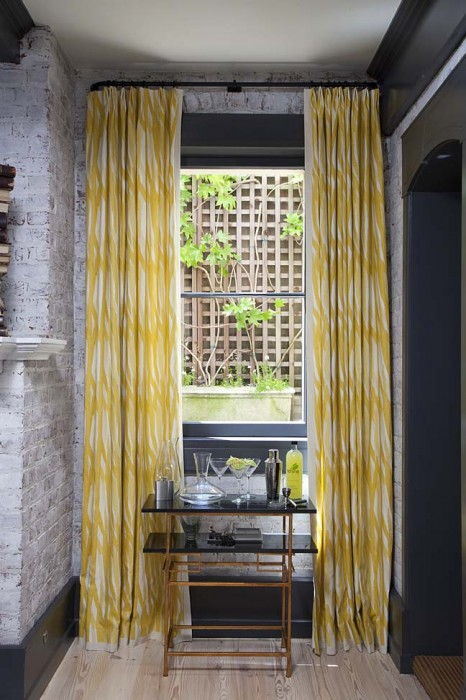 Stitch curtains featured at 2012 San Francisco Decorator Showcase